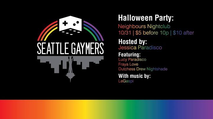 Seattle Gaymers Halloween Party!Seattle Gay Scene   Your Daily Gay ...
