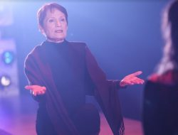 """From Twin Peaks to an all female production of """"Coriolanus""""....veteran actor Wendy Robie in """"Coriolanus: Fight Like A Bitch"""" onstage at 12th Avenue Arts through Nov 18, 2017. Photo: John Ulman"""