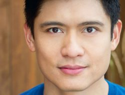 """Actor/singer Paolo Montalban plays """"Sam"""" in the 5th Avenue Theatre's upcoming production of MAMMA MIA, Febr 2-25, 2018"""