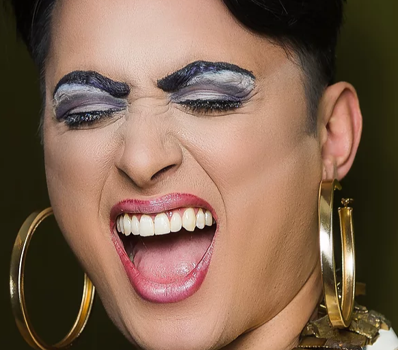 Queer Cabaret artist LYKKEN performs at Columbia City Theatre January 26, 2018