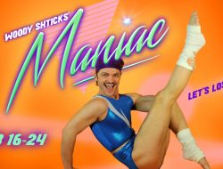Woody Shticks is ready to go in Maniac, produced by The Libertini's.