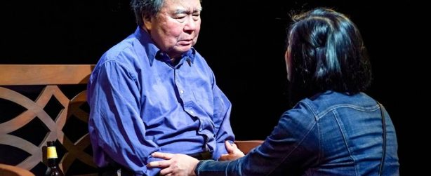 AMERICAN HWANGAP tells the bittersweet story of Min Suk Chun (Stephen Sumida) on the occasion of his 60th birthday (hwangap), a milestone signifying the completion of the Eastern Zodiac, as he returns, following a 15-year exile, to his ex-wife and now adult children.  Tickets available at our box office or in advance here: http://bit.ly/AmericanHwangap. Photo credit: Alabastro Photography