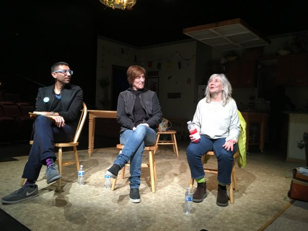 Intiman Executive Director Phillip Chavira, Seattle Police Department's .... and actress Gretchen Krich at the 3/16 talkback for HIR at ArtsWest Playhouse and a co-production with Intiman.