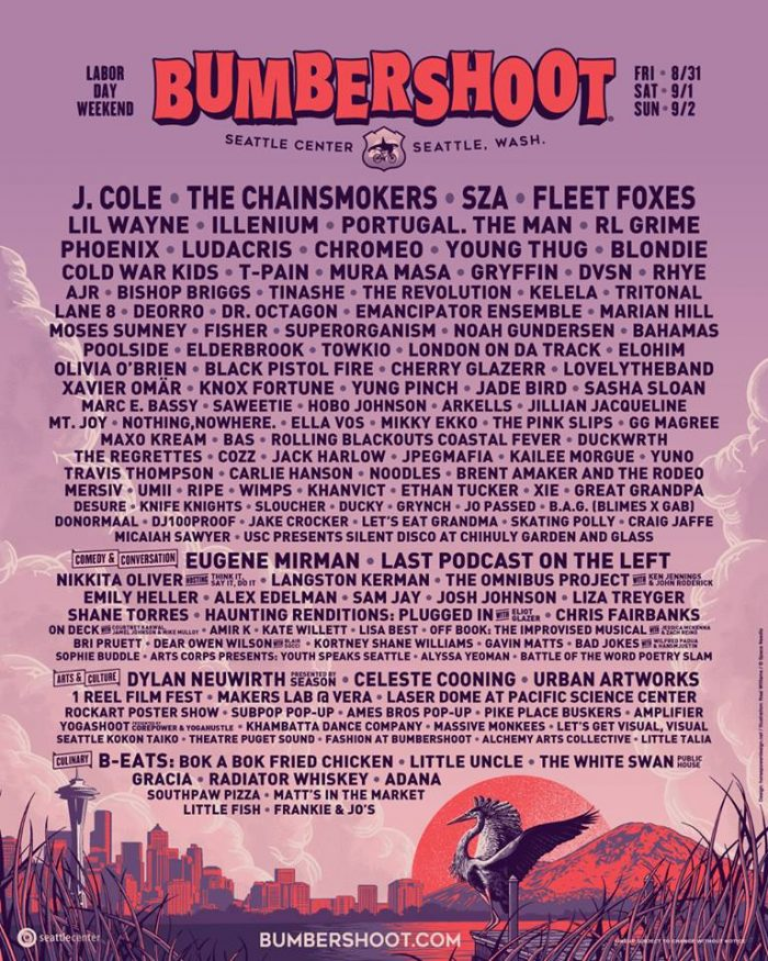 Bumbershoot Poster 2018