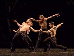 "Crystal Pite's ""Emergence"" at Pacific Northwest Ballet at McCaw Hall. Photo: Lindsay"