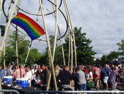 Seattle suburb BURIEN adds to their annual LGBTQ Pride events the weekend of June 1 and 2, 2018.