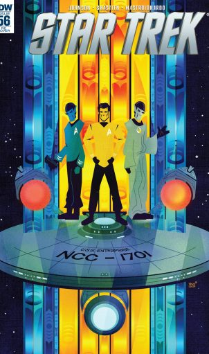 IDW Star Trek (nuTrek ongoing) #56 Legacy of Spock part 2 retail incentive cover
