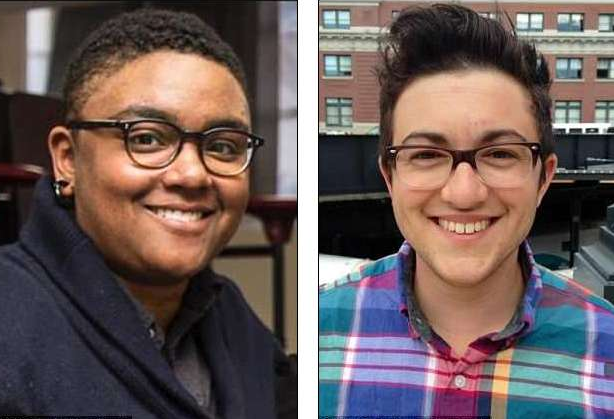 Two members of Seattle's LGBTQ community were attacked by a cougar while biking in the Cascade foothills on Saturday, May 19, 2018. SJ Brooks (left) died of injuries they sustained while Isaac Sederbaum (right), 31, survived with multiple wounds.