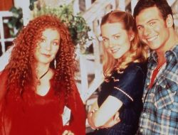 We're guessing Chloe Webb (left) and Marcus D'amico (right) pictured here in as still from the original 1993 series, will not be returning to the just announced TV reboot of Armistead Maupin's TALES OF THE CITY, but Laura Linney as Mary Anne Singleton, here in the center, WILL return to the 10 episode series set for 2019.