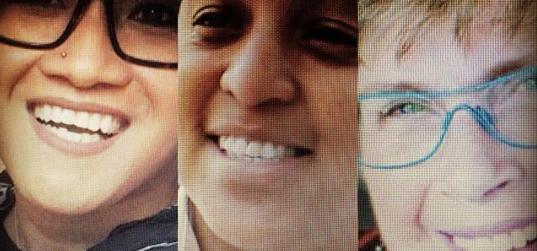 LGBTQ community leaders Aleksa  Manila, Monisha Harrell and Louise Chernin are 3 of Seattle Mayor Jenny Durkan's 2018 Pride
