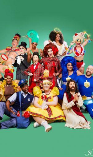 The all new 2018 HOMO FOR THE HOLIDAYS cast. Photo: Ji Ji Lee