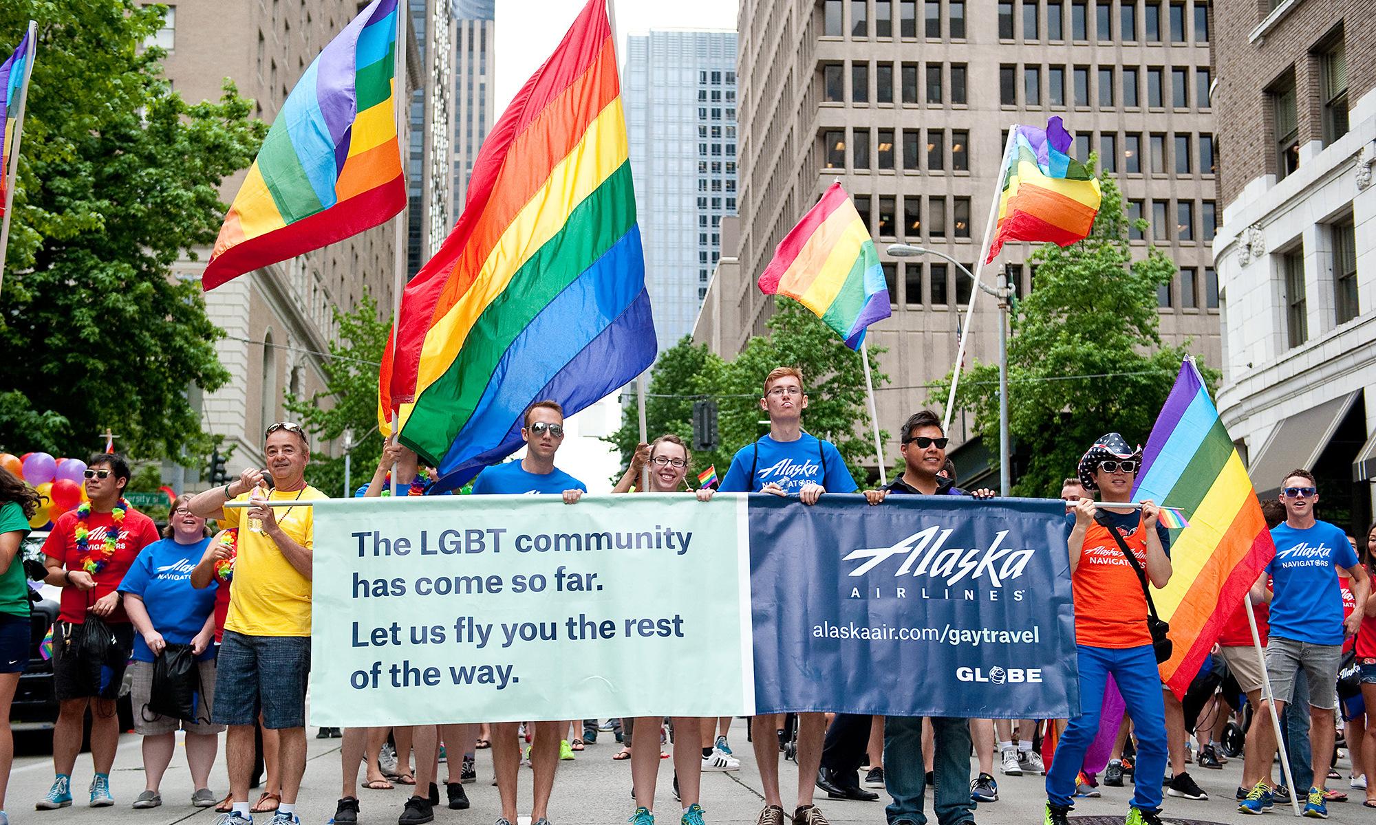 AlaskaAir-pride-parade