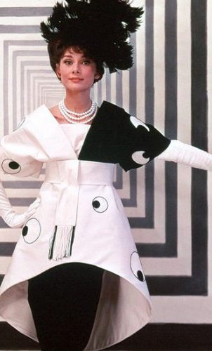 Audrey Hepburn in a My Fair Lady costume designed and photographed by Sir Cecil Beaton