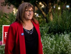 Christine Hallquist won the Democratic nomination for the 2018 Vermont governor's race