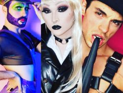 Kitty Glitter, Rowan Ruthless and Joel Domenico are three of the 11 contestants vying to become the next Mx. star at Queer/Bar Seattle starting this Thursday, August 30.