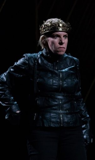 Sarah Harlett in Richard III. Photo by HMMM Productions.