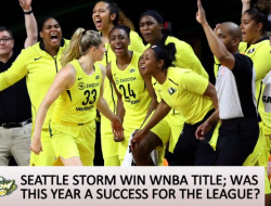 Seattle Storm clinch 3rd national WNBA title on Wednesday, Sept 12, 2017. Photo via Sports Illustrated video.