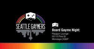 BoardGaymeNightRaygunLoungeseattle