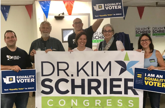 Dr. Kim Schrier is running to take back the WA State 8th Congressional District for the Democrats