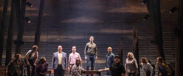 The cast of Come From Away - Photo Credit Matt Murphy