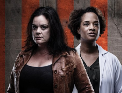 Kathryn Van Meter and Dedra D. Woods star in FIRE SEASON at Seattle Public Theater now through February 17, 2019.