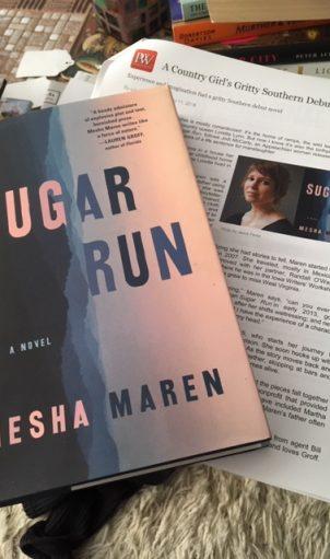 """Mesha Maren's debut novel """"Sugar Run"""""""