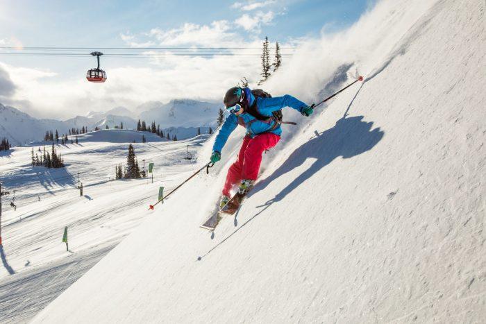 Skiing (Photo: Mitch Winton & Tourism Whistler)