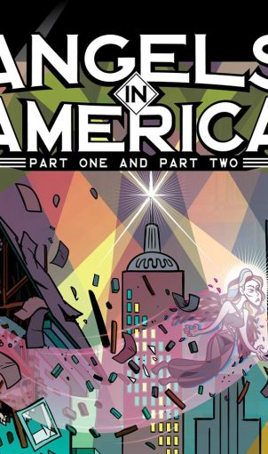 Lakewood Playhouse takes up the challenge of staging Tony Kushner's epic 2 part AIDS drama, ANGELS IN AMERICA.