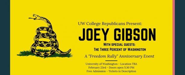 JoeyGibson UW Rally