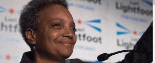 Lori Lightfoot advances in Chicago Mayor's race.