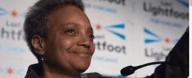 Lori Lightfoot advances in Chicago Mayor's race.