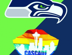 Cascade Flag Foot ball Seahawks