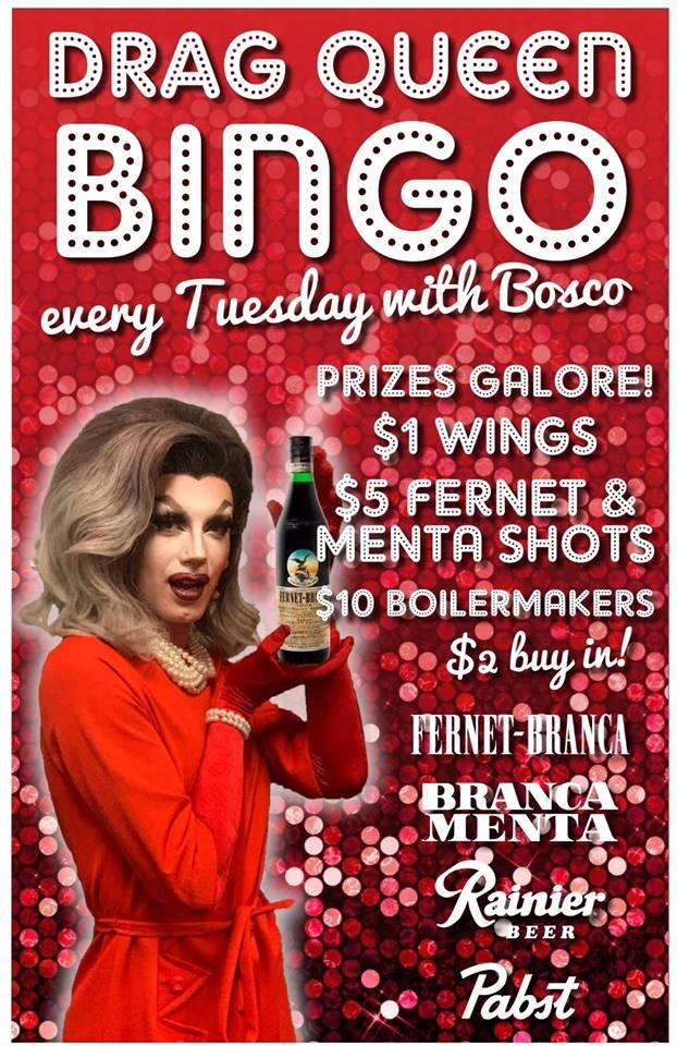 FernetBranca Presents Bingo with Bosco