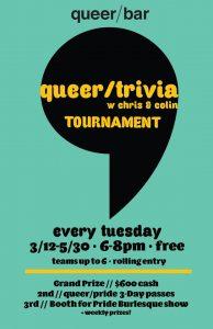 QueerTrivia Spring Tournament
