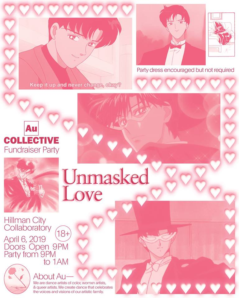 Unmasked Love An Au Collective Fundraiser