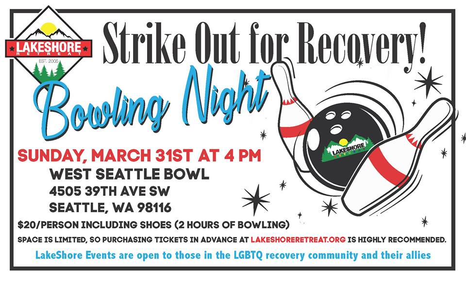 Strike Out for Recovery! – SeattleSeattle Gay Scene | Your