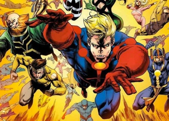 The Eternals (Image: Marvel Comics)