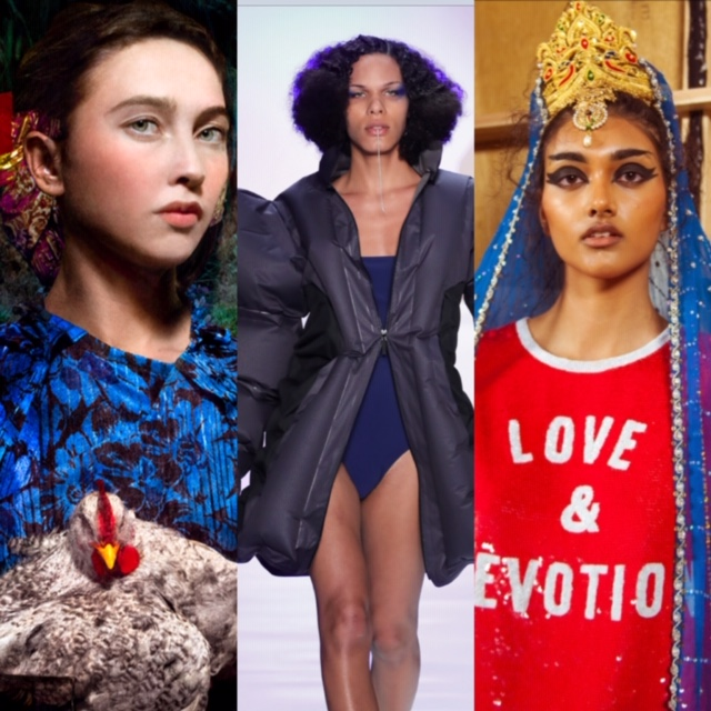 Some of the fashion on view at MoPop's new show: A Queen Within: Adorned Archetypes,
