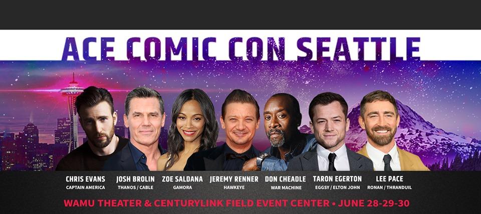 ACE Comic Con Seattle 2019