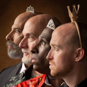 Photos of Princess Guy by Lucien Knuteson — with Paul Rosenberg, Eric Lane Barnes, Ritchard Wooley and Jeffrey Erickson.