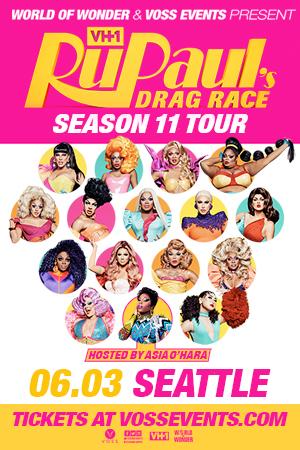 Ru Paul Drag Race Seattle Pride 2019