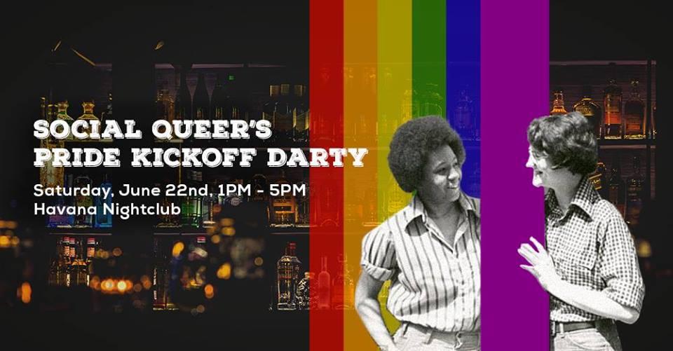 SQs Pride Kickoff party