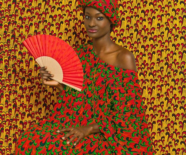 Omar Victor Diop Print Aminata, 2013 From The Studio of Vanities series Photo courtesy of MAGNIN-A Gallery, Paris