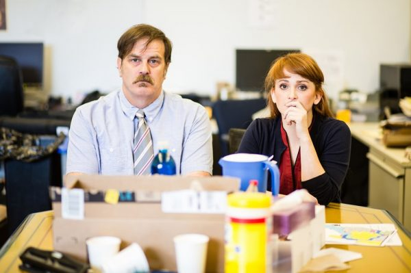 Shawn Belyea and Libby Barnard star in David Harrower's acclaimed play BLACKBIRD at 18th & Union through June 15, 2019