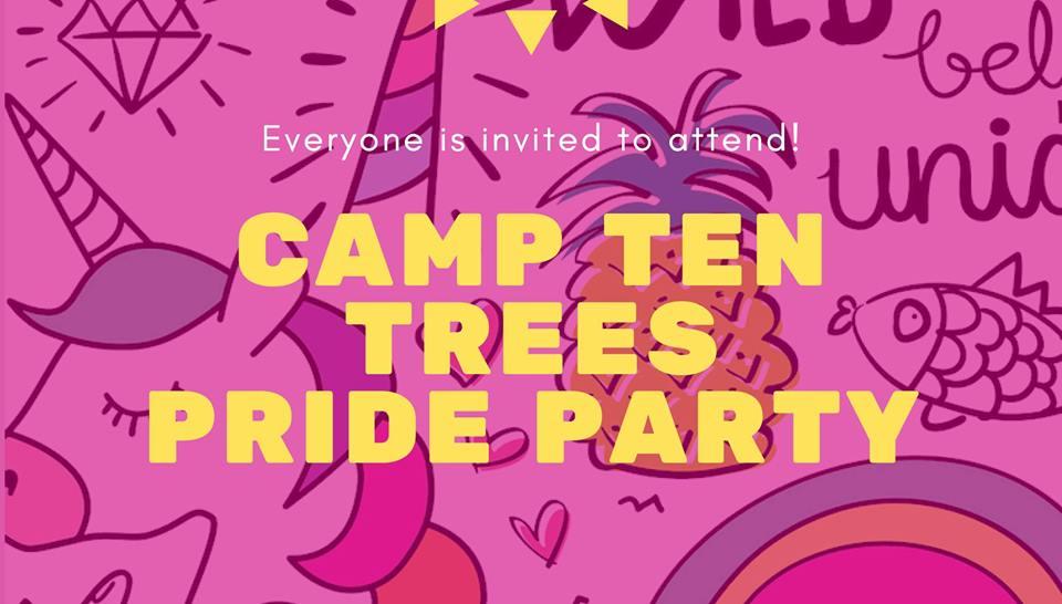 Camp Ten Trees Pride Mixer