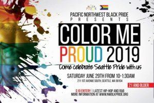 Color Me Proud 2019 Party