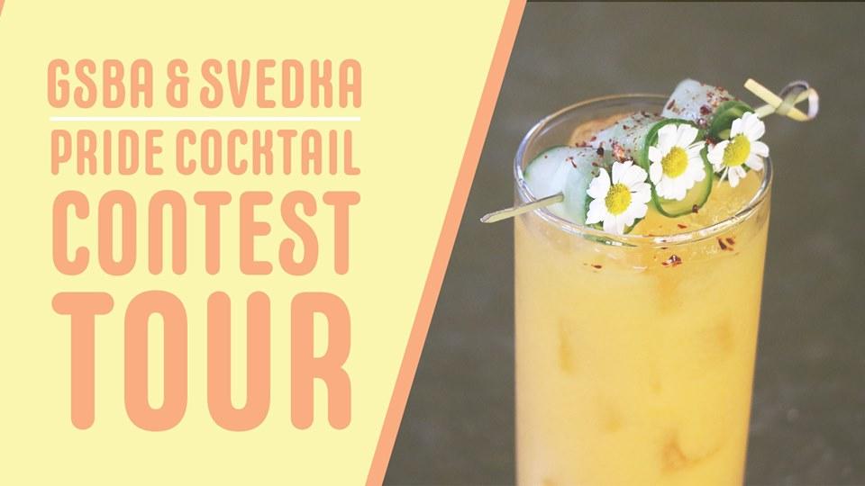GSBA Svedka Pride Cocktail Contest Tour