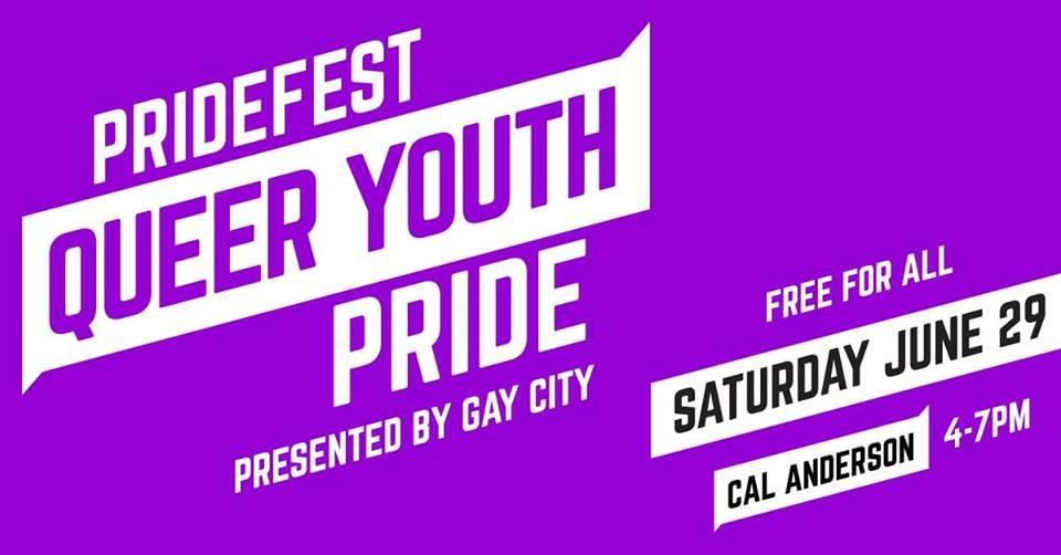 PrideFest Queer Youth Pride 19