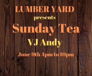 Sunday Tea Lumber yard
