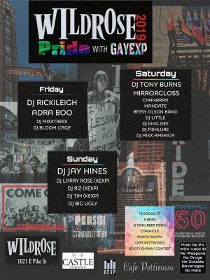 WildrosePride19 Poster